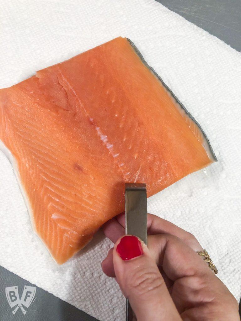 King Salmon Niçoise Salad Board