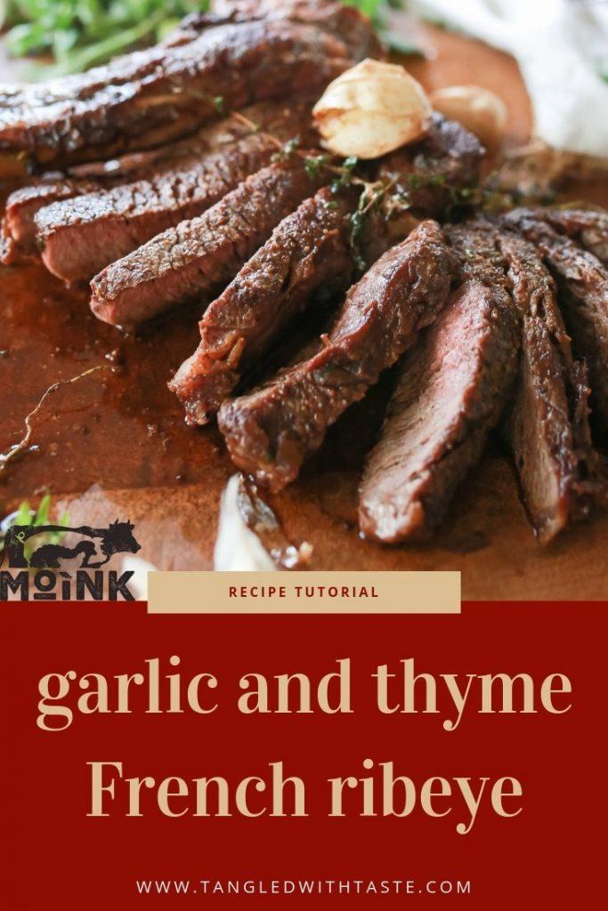 French Ribeye Steak