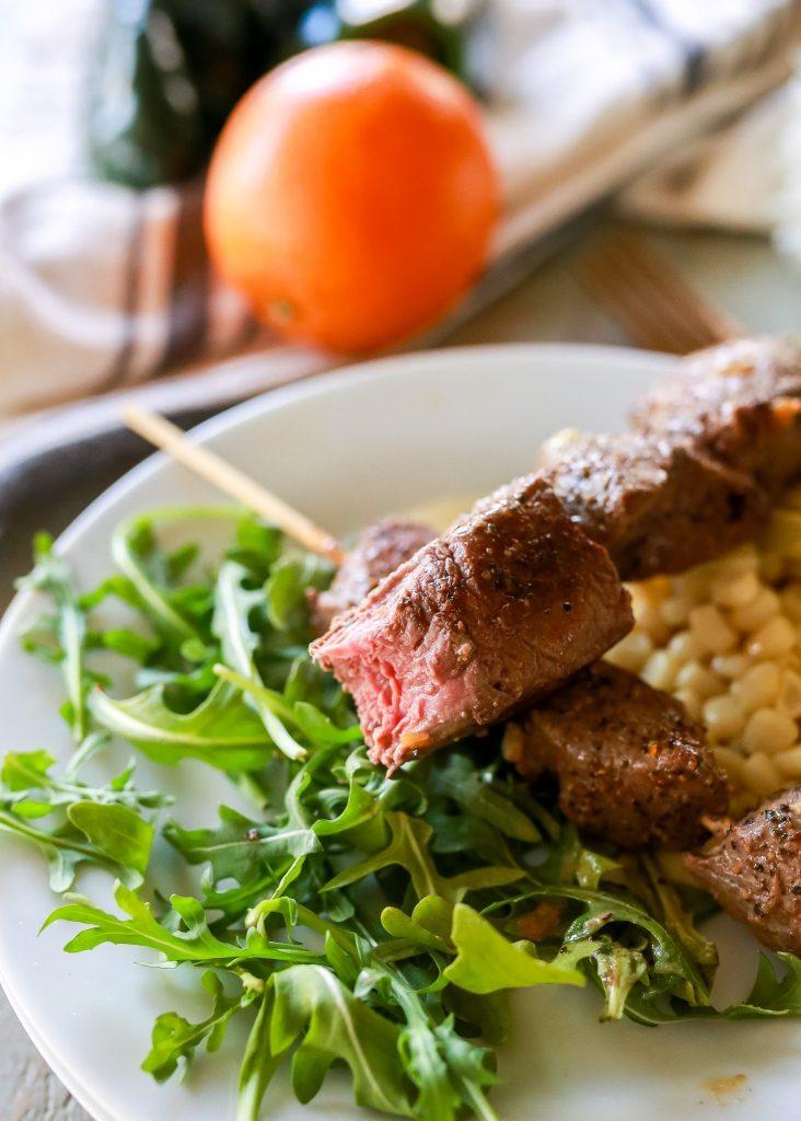 Margarita Steak Kabobs