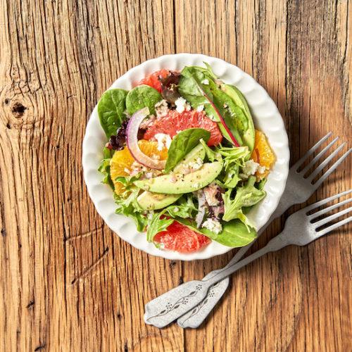 Citrus-Avocado Salad with Lemon Vinaigrette