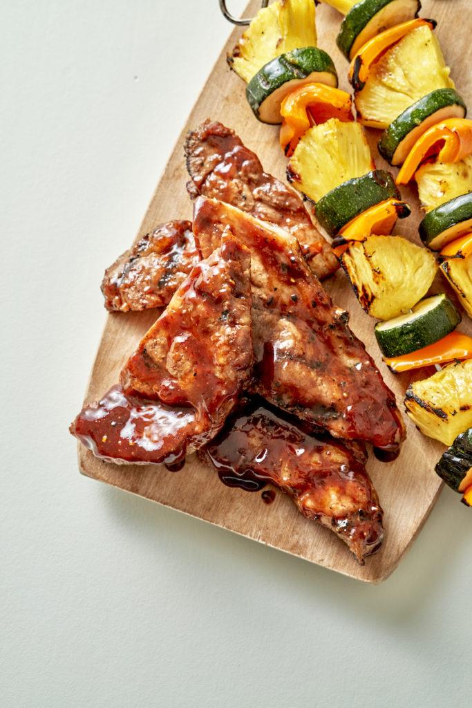 Brown Sugar BBQ Pork Steaks