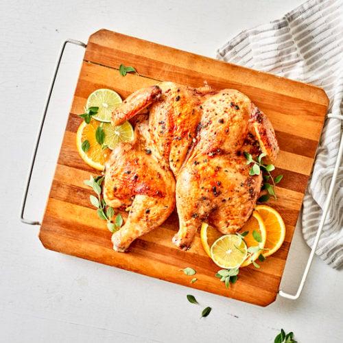 Mojo Spatchcock Chicken